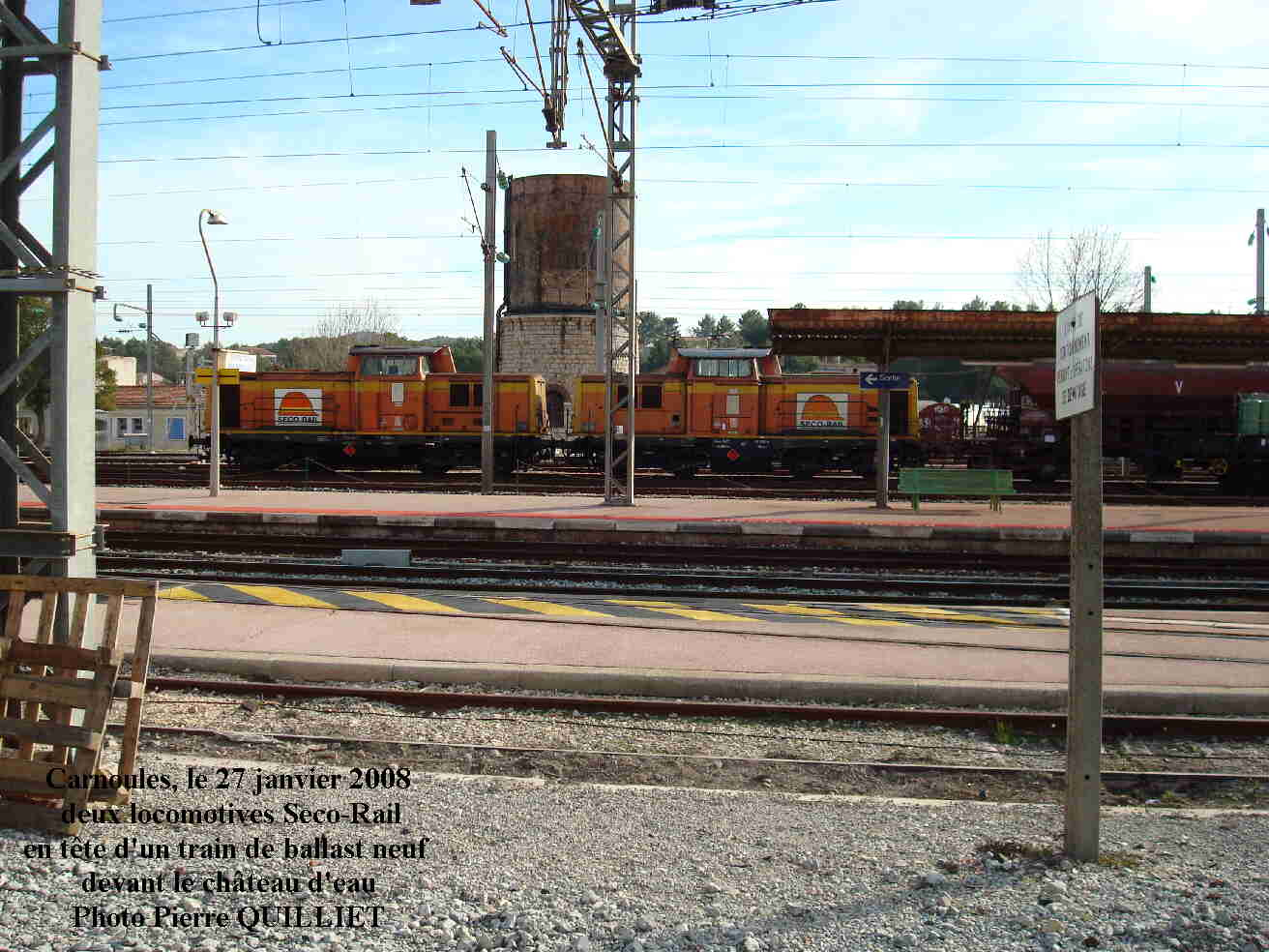 train de ballast neuf