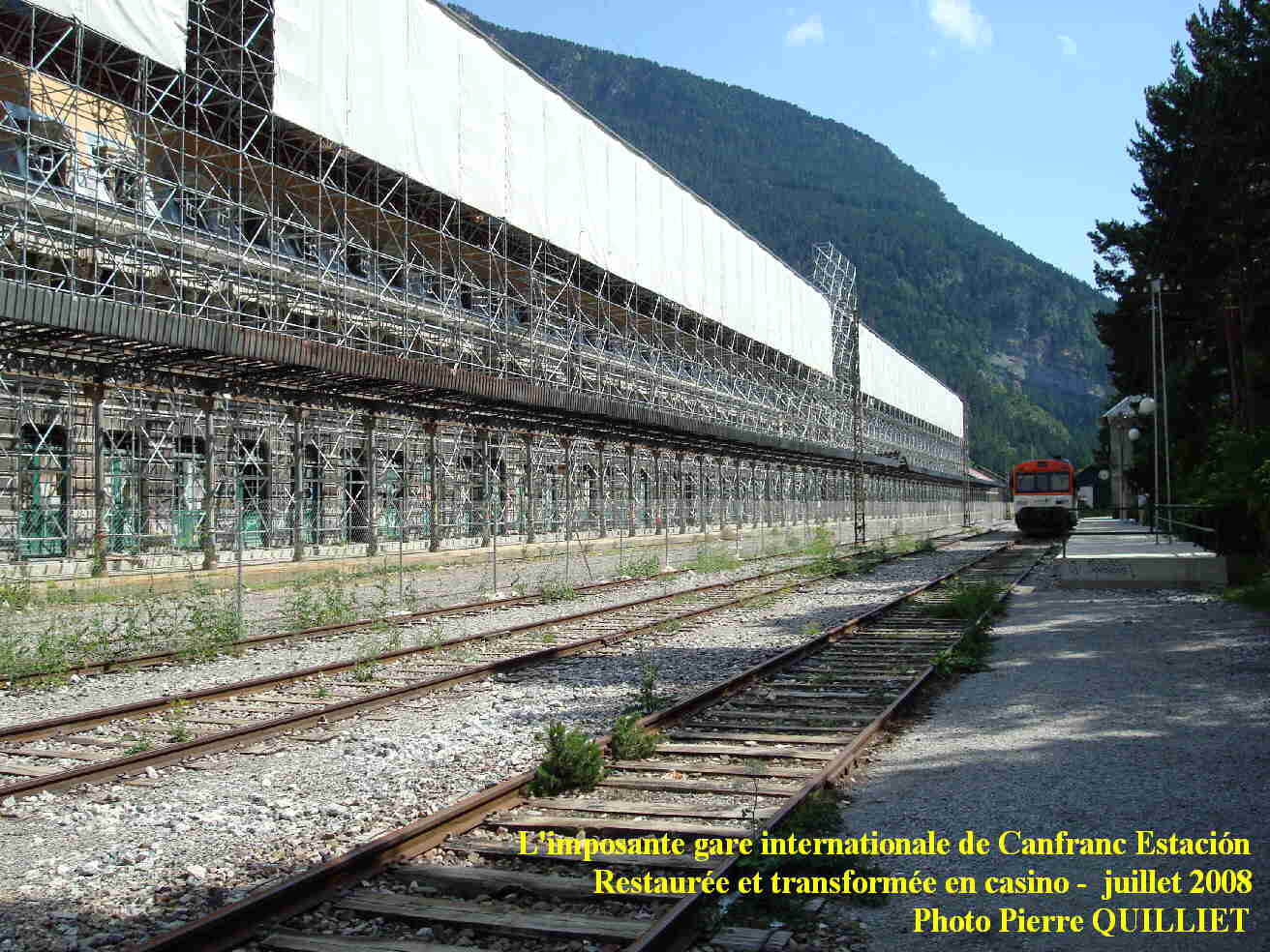 Gare internationale de canfranc